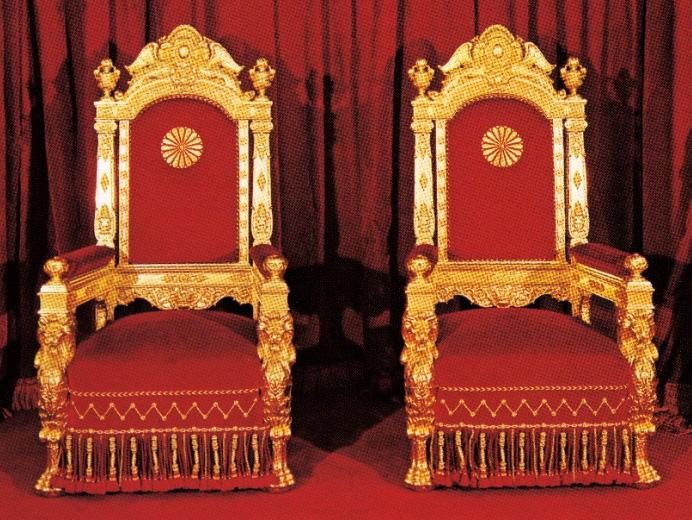 儀式用御椅子