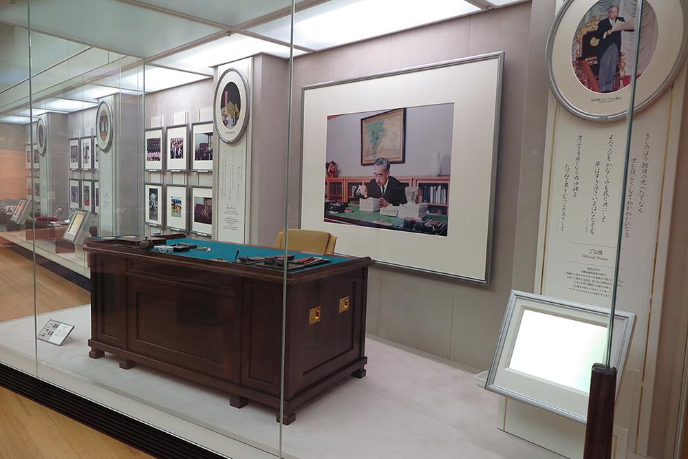 昭和天皇87年のご生涯の展示写真