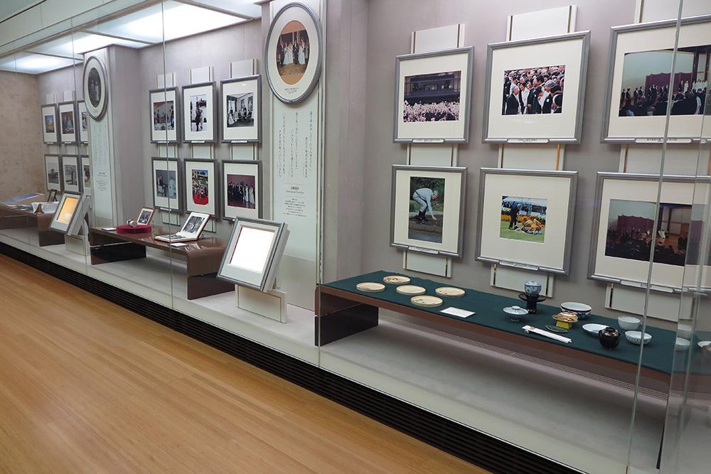 昭和天皇87年のご生涯の展示写真2